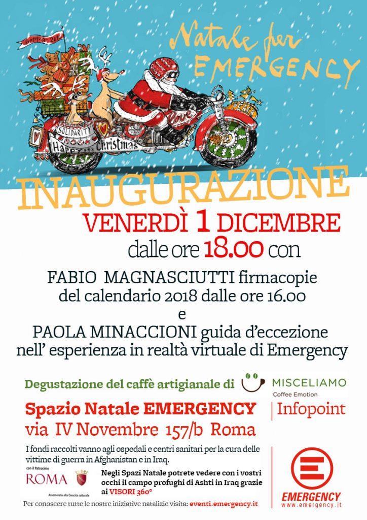 Inaugurazione Natale Roma