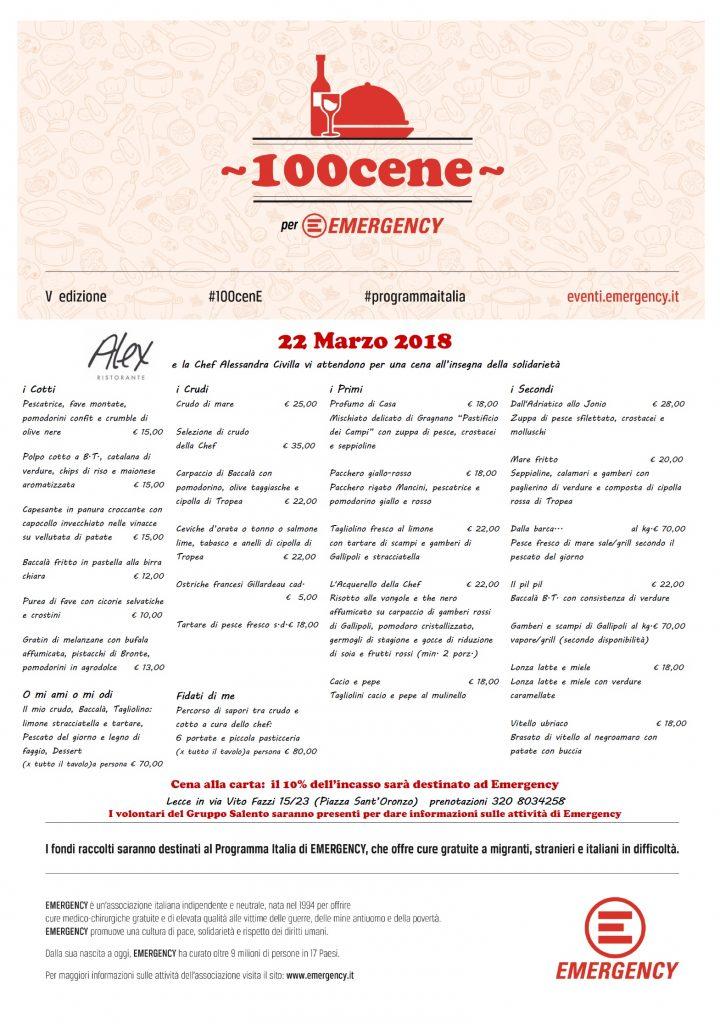 100 cene Lecce