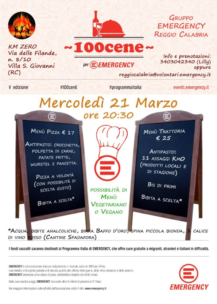 100 cene Reggio Calabria