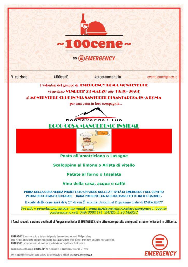 100 cene Roma Monteverde