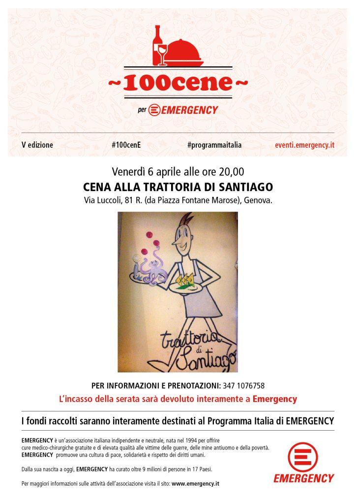 100 cene - Genova - Santiago