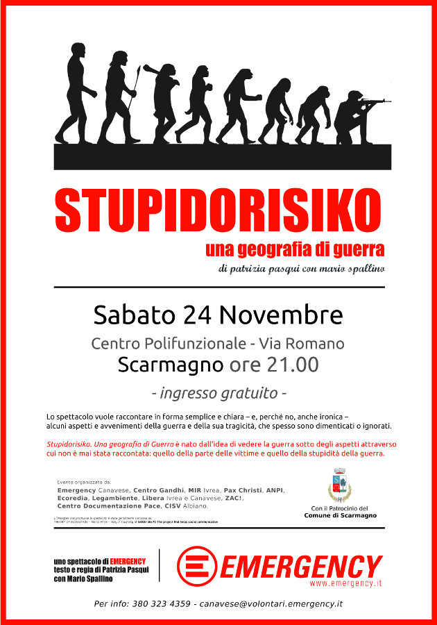 STUPIDORISIKO - Scarmagno sabato 24 novembre 2018