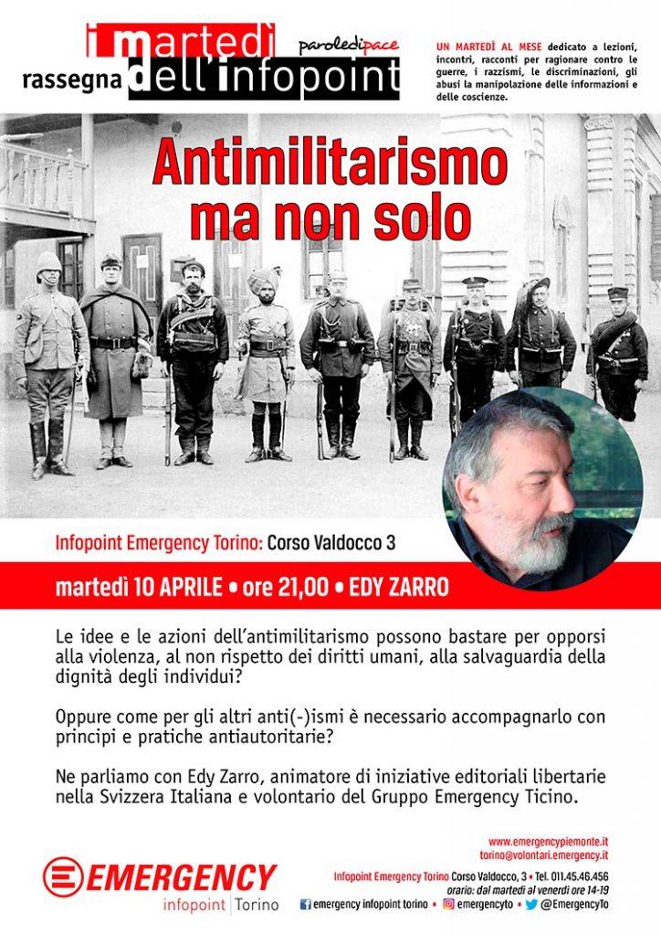 Antimilitarismo ma non solo - Torino