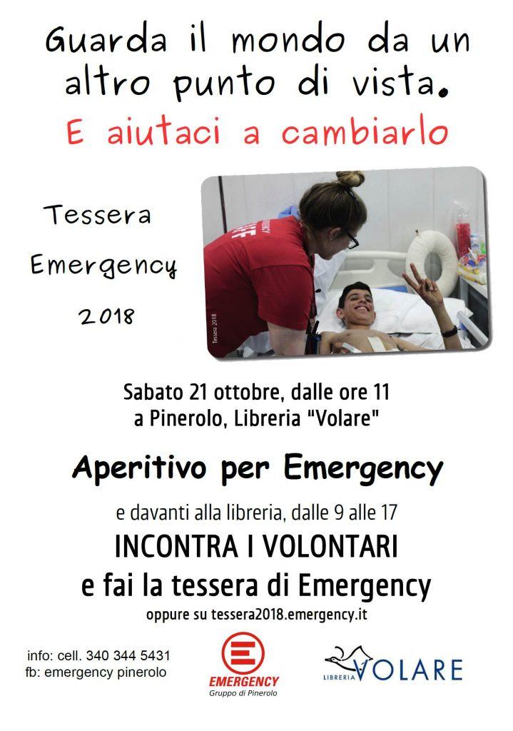 Aperitivo per Emergency - Pinerolo