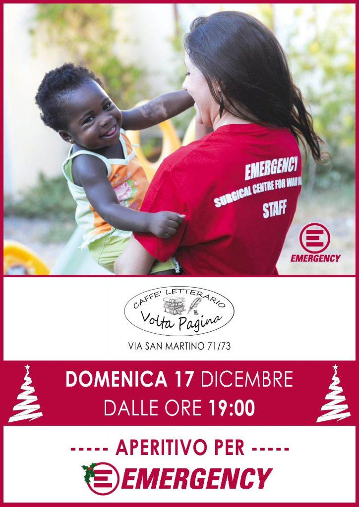 Aperitivo per Emergency - Pisa 2017