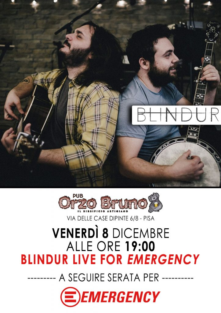 Blindur live per Emergency