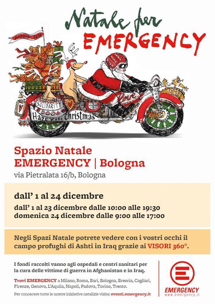 Spazio Natale Emergency Bologna