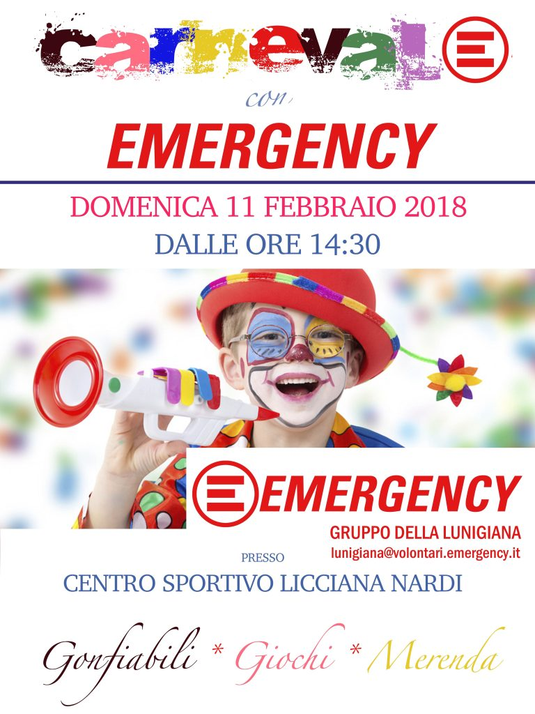 Carnevale con Emergency