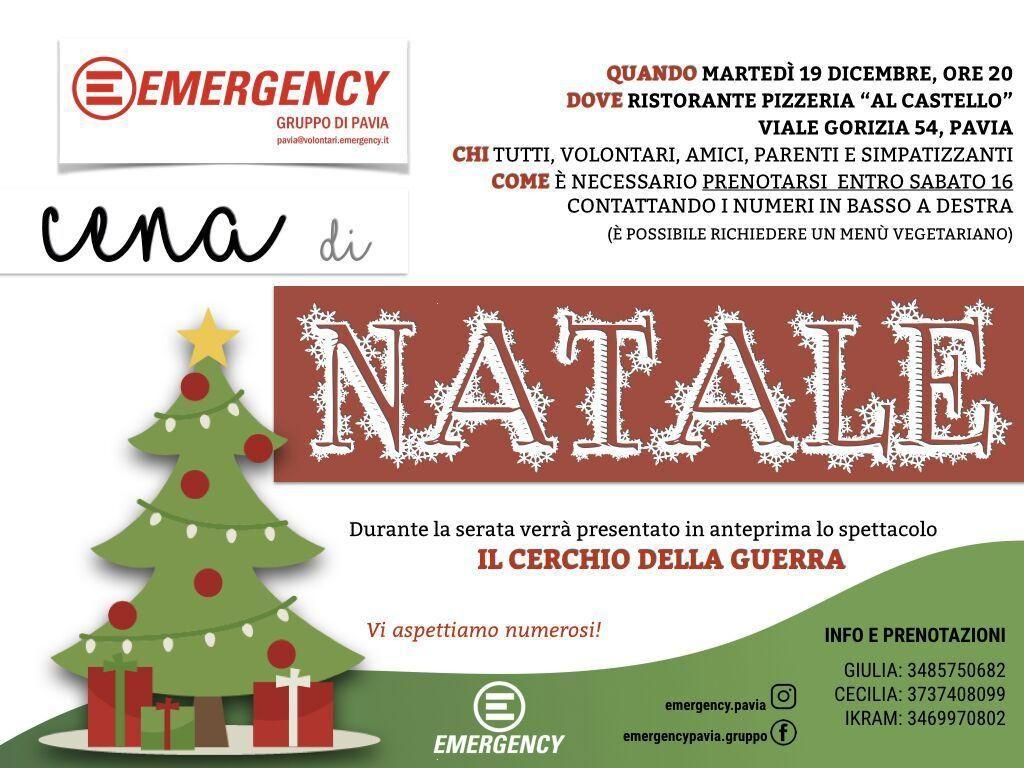 Immagini Natale 1024x768.Cena Di Natale Con Emergency Pavia Emergency Eventi