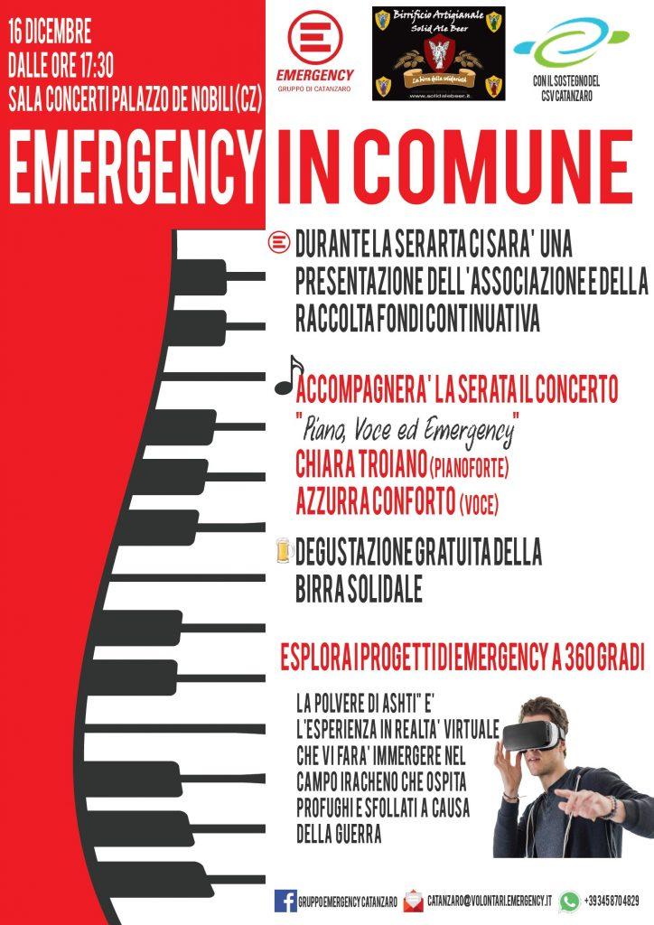 Emergency in comune - Catanzaro
