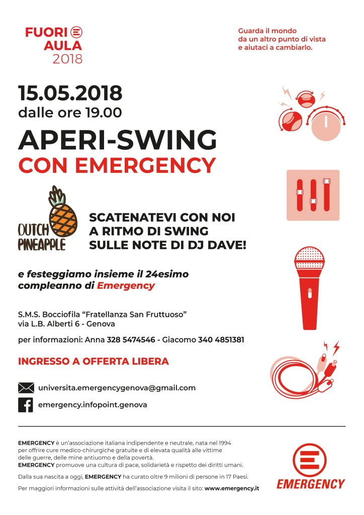 #FuoriAula 2018 Genova