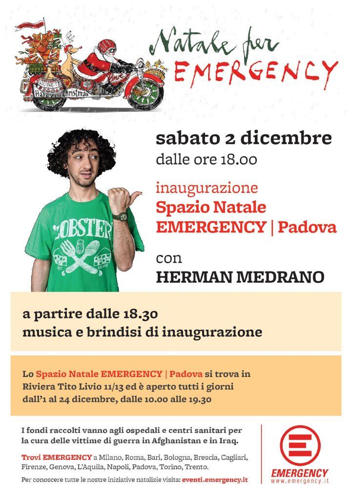 Inaugurazione Spazio Natale Padova