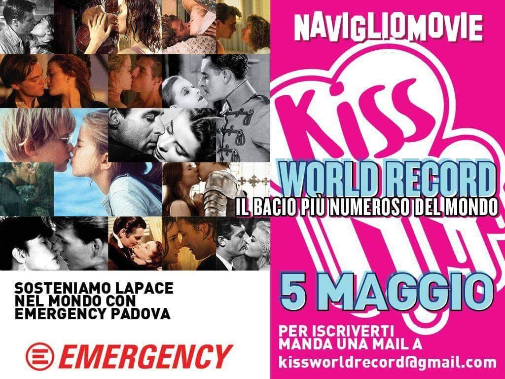 Kiss World Record