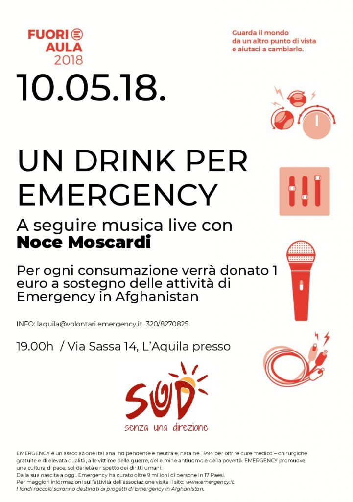 Un drink per Emergency - L'Aquila