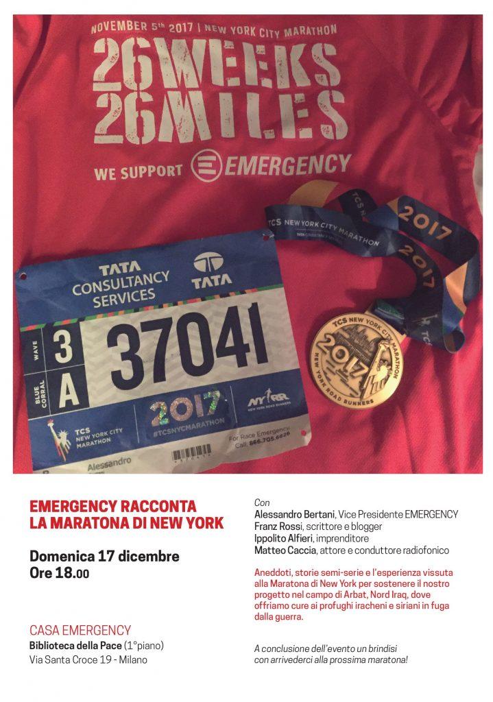 Maratona di New York 2017