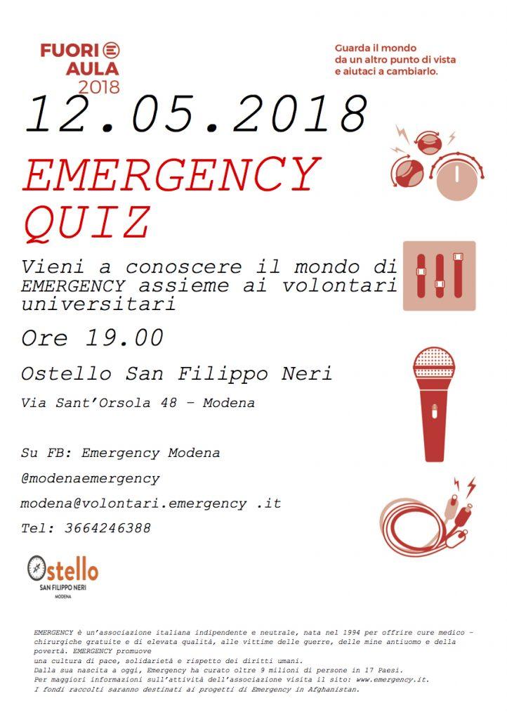 Emergency Quiz