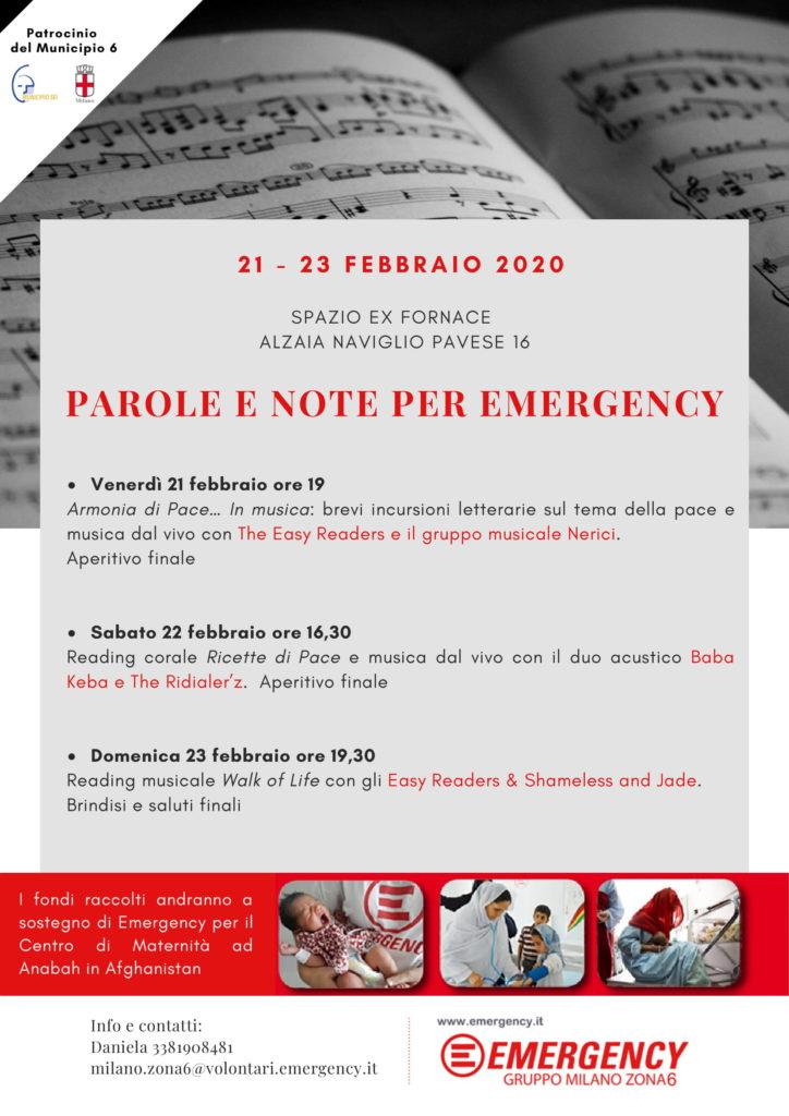 Parole e note per Emergency