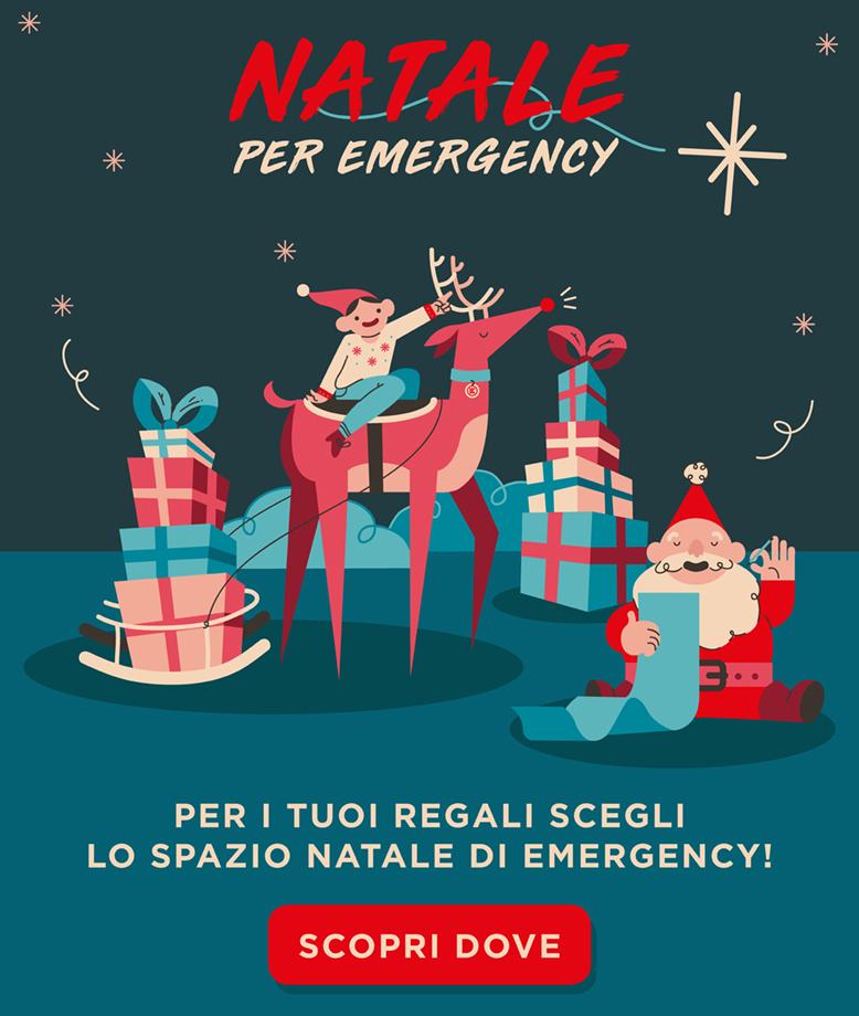 Emergency Regali Di Natale.Natale Per Emergency Emergency Eventi
