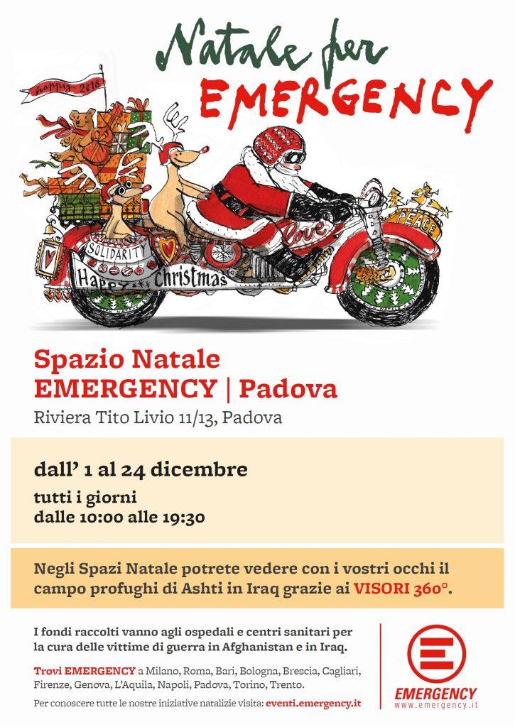 Spazio Natale Emergency Padova