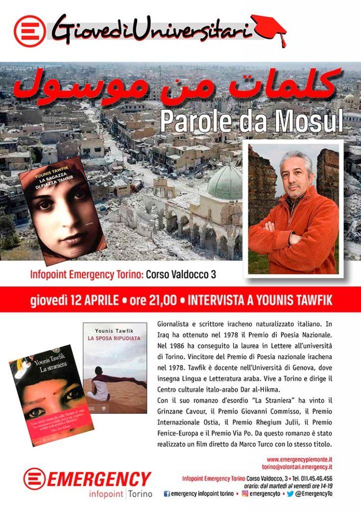 Parole da Mosul - Torino