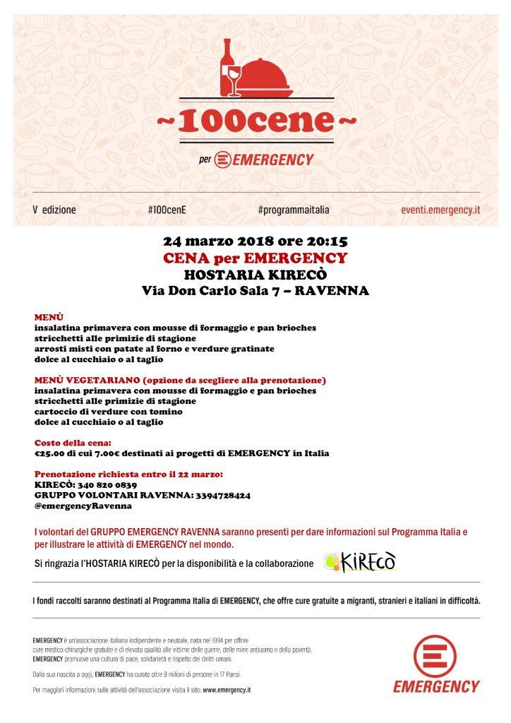 100 cene - Ravenna