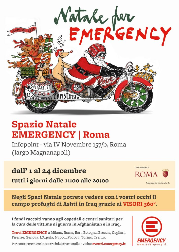 Spazio Natale Emergency Roma