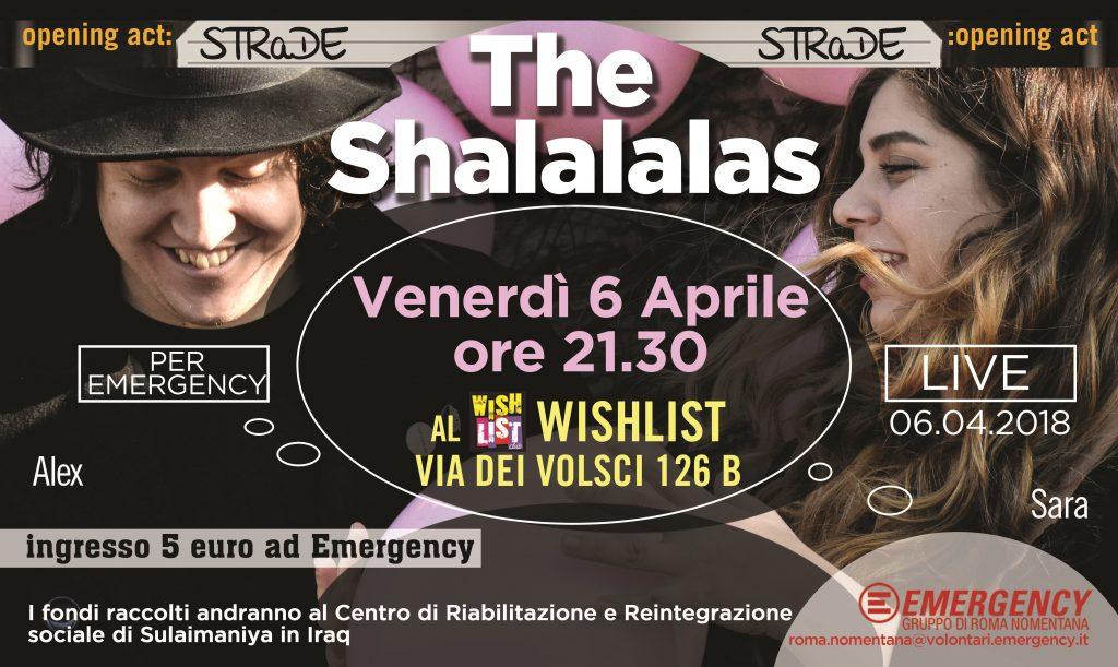 Shalalalas 6 aprile 2018