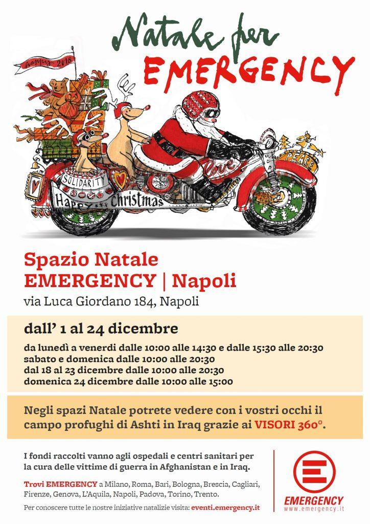 Spazio Natale Emergency Napoli