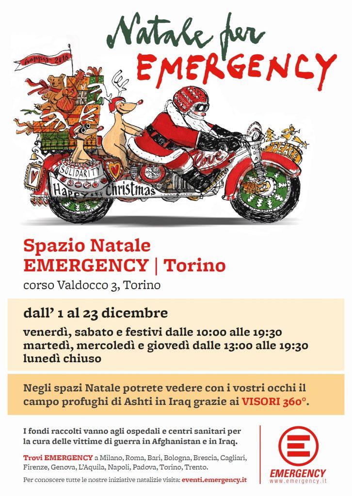 Spazio Natale Emergency Torino