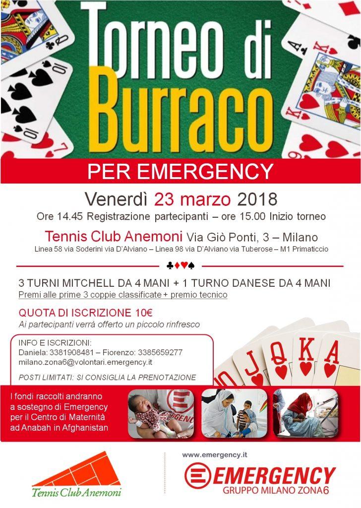 Torneo Burraco Zona 6 Milano