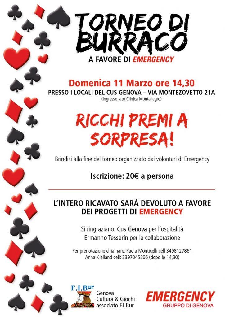 Torneo di Burraco - Genova