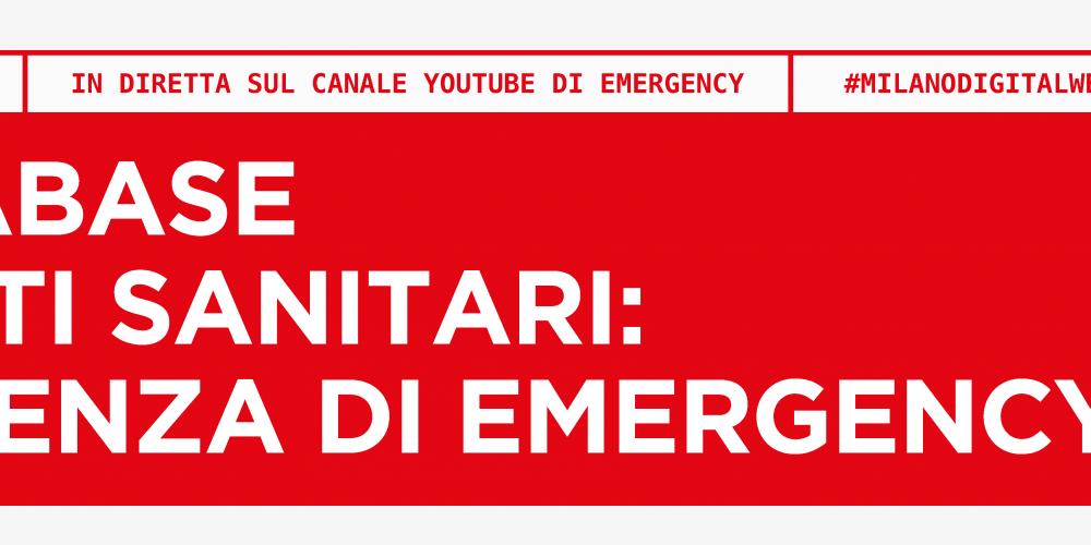 Un database per i dati sanitari: l'esperienza di Emergency
