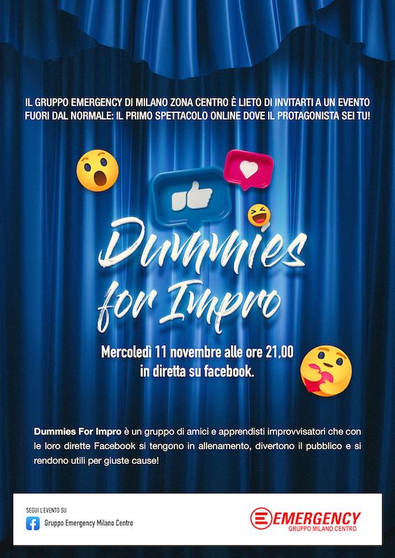 locandina evento Dummies4Emergency