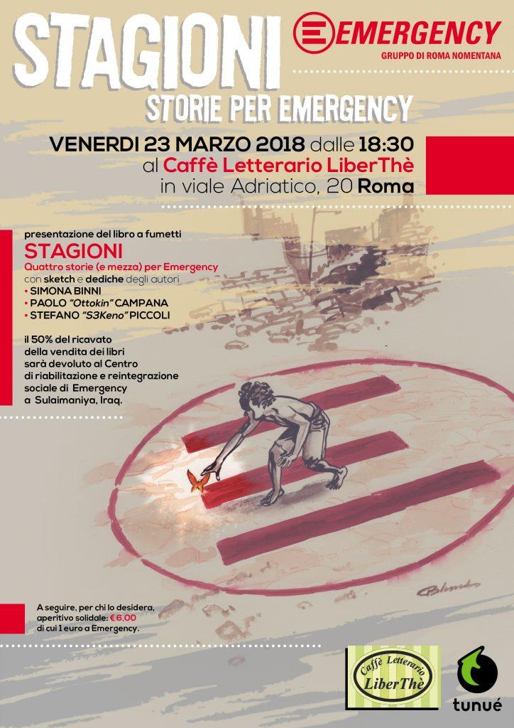 Presentazione Libro Stagioni - Roma Nomentana