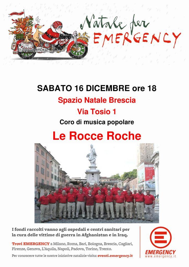 Spazio Natale Brescia - Rocce Roche