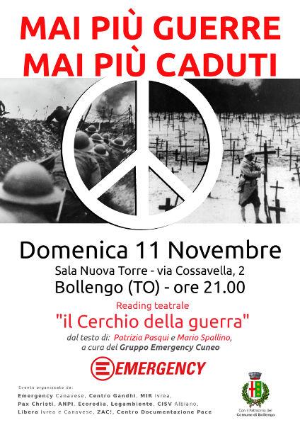 Reading Teatrale Bollengo - 11 Nov 2018